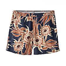 Patagonia Shorts Size Chart Buy Patagonia W Baggies Shorts Cereus Flower Classic Navy