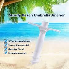 2pc five spiral beach umbrella