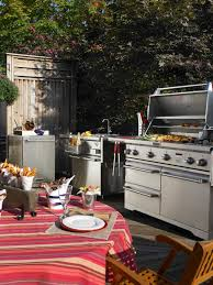 For Outdoor Kitchen Optimizing An Outdoor Kitchen Layout Hgtv