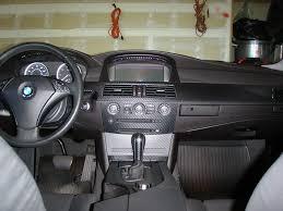 BMW E60 550I carbon fiber interior wrapped in black - 5Series.net ...