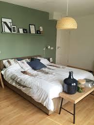 Slaapkamer Met Kleur Geordend Van Histor Op De Muur Slaapkamer In