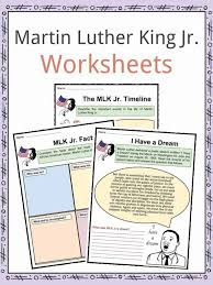 Martin Luther King Jr Facts & Worksheets For Kids | Study Material