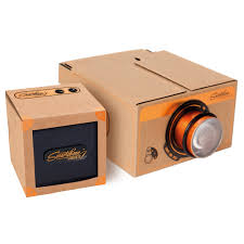 smartphone projector and speaker 2 0 gift set copper