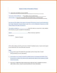 Lease Termination Letter Sop Proposal