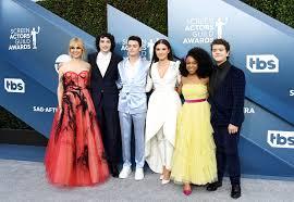 The Stranger Things Cast Reunites at the 2020 SAG Awards