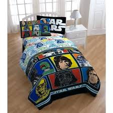 twin star wars bedding classic grid 2 5 piece bed in a bag set free