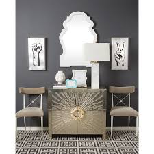 jonathan adler rider side chair gray