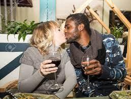 White Girl Kissing Black Guy