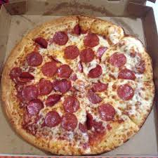 little caesars pepperoni pizza.  Little Photo Of Little Caesars Pizza  Hanford CA United States Typical Large  Pepperoni For Pepperoni