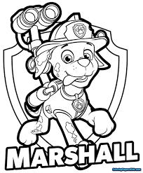 Paw Patrol Coloring Wonderful Pages Everest Printable Free Books