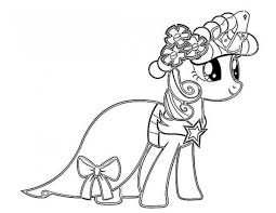 Small Picture My Little Pony Friendship is Magic Coloring Pages Gianfredanet