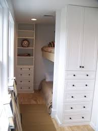 Perfect Super Efficient Bunk Room Carved Out With Standard Cabinets.