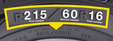 Tire Chart Meaning How To Read Tire Sizes Goodyear Auto Service
