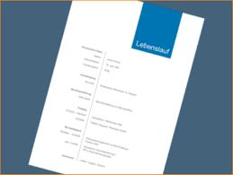 6 Design Lebenslauf Questionnaire Templated