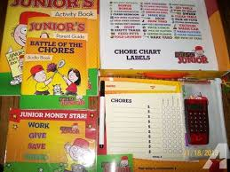 Financial Peace Junior Chore Chart Financial Peace Junior Dave Ramsey For Sale In Salem