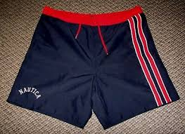Nautica Swim Trunks Size Chart Nautica Mens Striped Swim Bottom Trunks 37 74 Picclick