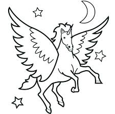 Horse Coloring Pages For Kids With Free Printable Horseshoe Feat