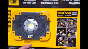 Cat Rechargeable Work Light Charger Costco Cat 1100 Lumen Led Work Light And Charger