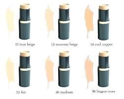 Max Factor Pan Stick Makeup Color Chart Max Factor Pan Stick Makeup Karentr Co