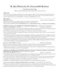 Correct Format Of A Resume Nmdnconference Com Example Resume And