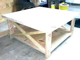 medium size of rustic farmhouse end table plans ana white trestle for coffee architectures marvelous pine