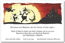 Dance Invitation Ideas Dance In The Moonlight Halloween Invitations Announcingit Com Blog