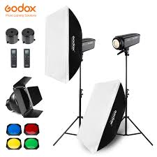 Godox Light Us 820 0 20 Off Free Dhl 400w Godox Sl 200w 2x 200w Continuous Light Studio Led Light Softbox Light Stand Honeycomb Grid For Photography Video In