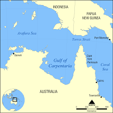 Gulf of carpentaria wikipedia extraordinary darling river australia map