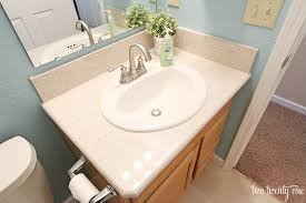 bathroom formica countertop