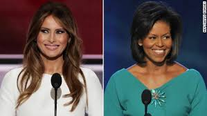 Image result for trump vs michelle obama
