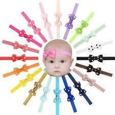 <b>20pcs</b>/<b>lot kids Small Bow</b> Tie Headband DIY Grosgrain Ribbon Bow ...