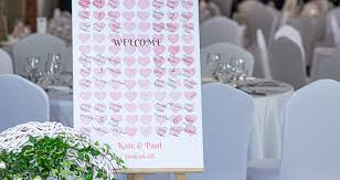 Table Number Chart Wedding 7 Great Ideas For Personalised Boards With Wedding Seating
