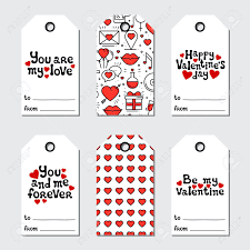 Everyone will love receiving a valenslime and your kids will have even more fun making it. St Valentine S Day Gift Tags Printable Tags Collection Love Royalty Free Cliparts Vectors And Stock Illustration Image 106388996