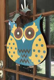 1000 ideas about owl door hangers on door