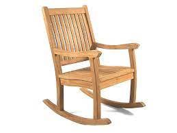 kensington teak rocking chair grade a
