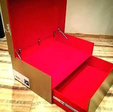 nike shoe box storage wood