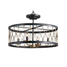 crisscross ceiling light fixture by currey and company 9902 cc