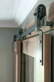 low profile barn door hardware beautiful 9 fresh sliding closet bypass kit double lo heavy duty