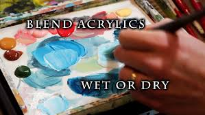 how to blend acrylic paint on canvas justin hillgrove imponsters you