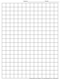 Graph Papper Graph Paper Full Page Grid Half Inch Squares 14x19 Boxes King Virtue