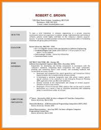 6 Resumes Examples Objectives Activo Holidays