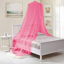 Fantasy Kids Kids Collapsible Wire Hoop Bed Canopy, Hot Pink, One Size,