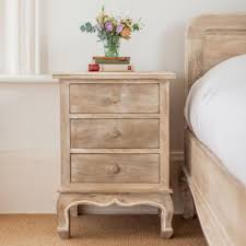 wooden bedside crafted in Solid mango wood Furniture online by