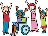 Image result for clip art children in wheel chairs