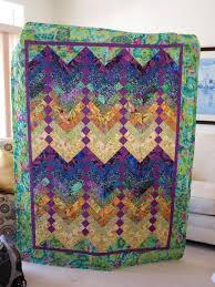 67 best FRENCH BRAID(quilt)TUTORIALS images on Pinterest ... & Purple and Gold French Braid Quilt featuring by QuiltsClothsCovers, $250.00 Adamdwight.com