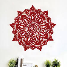 stickers sticker mural mandala fleur inn sticker mural a