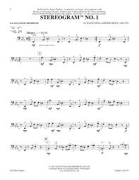color my world sheet music stereogram no 1 davidbrubeck com