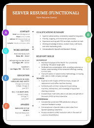 Awesome Infographic Functional Resume Examples Modern Executive Level Position The Functional Resume Template Examples Writing Guide Rg