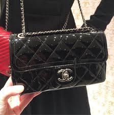 Chanel Coco Shine Quilted Bag Reference Guide | Spotted Fashion & Chanel Black Coco Shine Flap Bag Adamdwight.com
