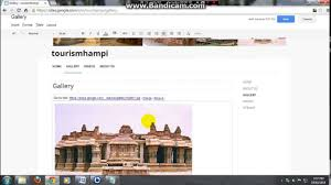 how to create website in google sites for